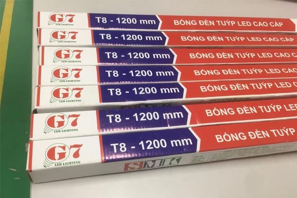 Đèn Led Tube G7 - 30W 1200 mm thủy tinh