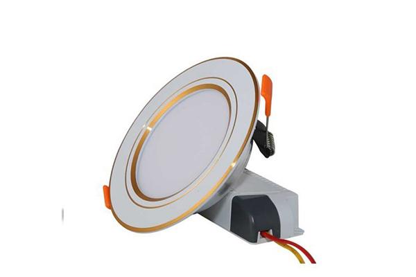 Đèn LED âm trần Downlight viền vàng 7W D AT10L 90/7