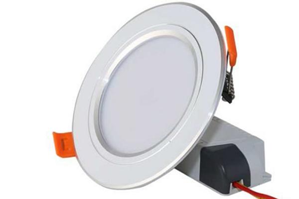 Đèn LED âm trần Downlight viền bạc 7W D AT10L 90/7