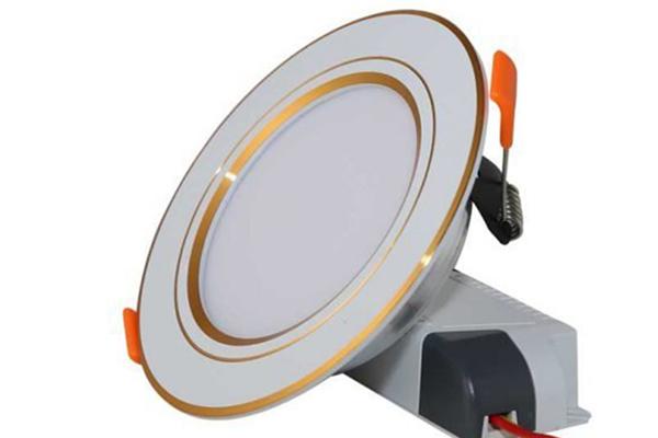 Đèn LED âm trần Downlight viền vàng 9W D AT10L 110/9