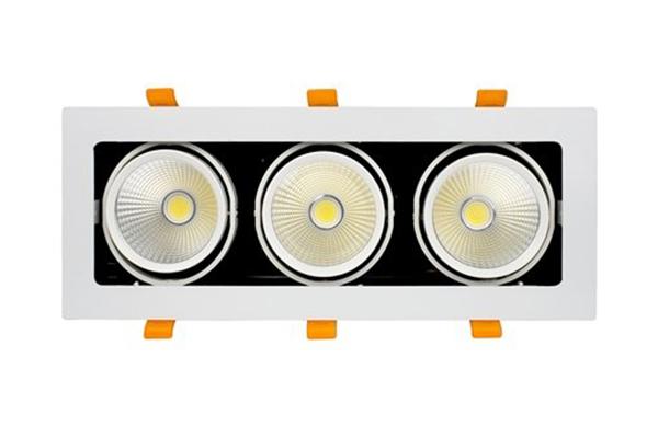 Đèn GRILL LIGHT âm trần GL-3*10-V334 Kingled