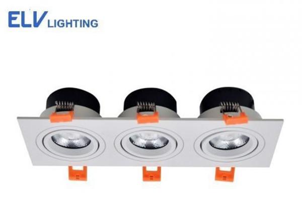 Đèn LED âm trần 7W ELV803E-M