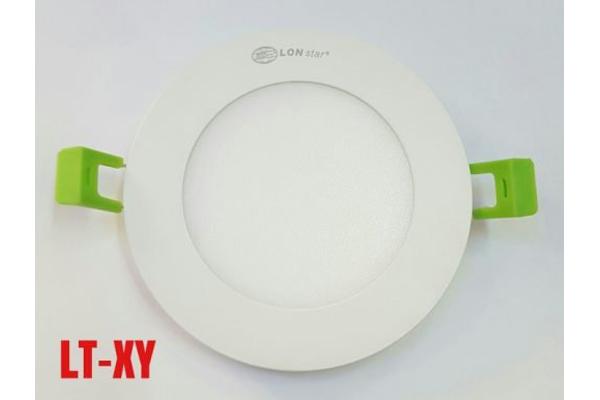 Đèn LED âm trần panel LONstar mỏng tròn 6W