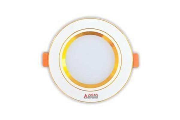 Đèn led âm trần đổi màu mặt vàng 5w MV5-D65 Asia