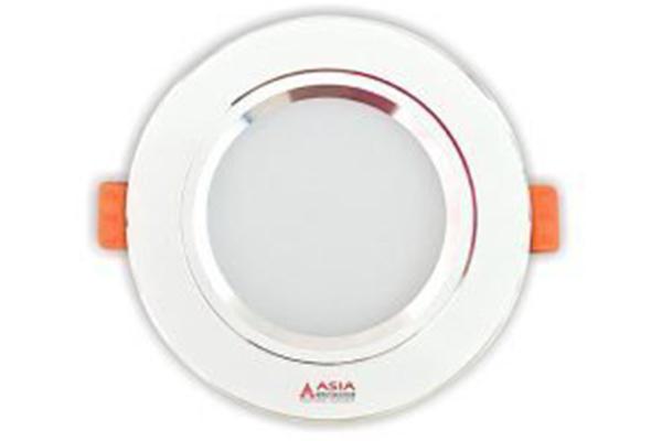 Đèn LED âm trần mặt trắng đổi màu 5w MT5-D65 Asia