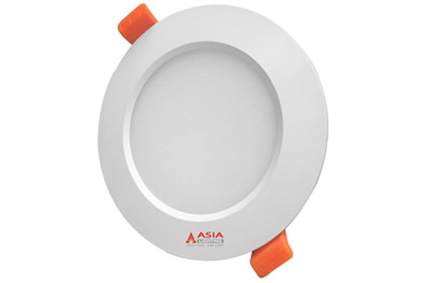 Đèn LED âm trần đổi màu nhôm đúc mặt mờ 9w MD9 Asia