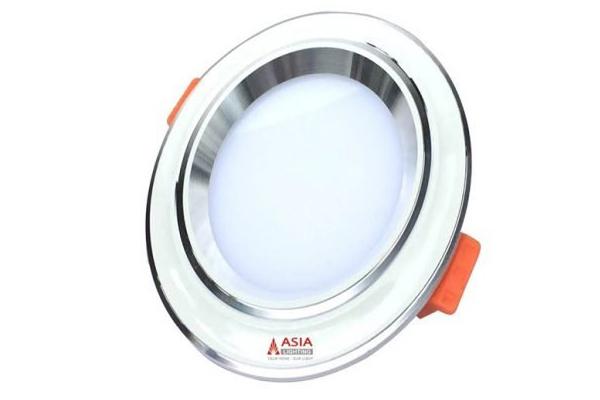 Đèn led âm trần mặt lõm viền trắng 7w MLTDS7 Asia
