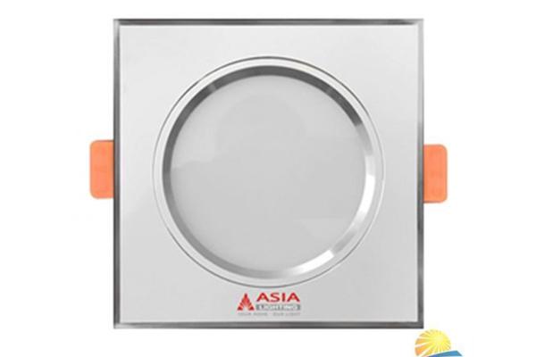 Đèn led âm trần đổi màu vuông mặt trắng 7w MTV7 Asia