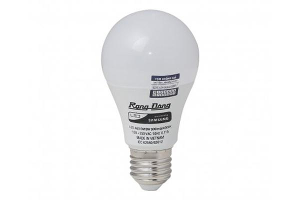 Bóng LED Bulb đổi màu A60/7W E27 Rạng Đông