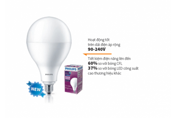 Đèn led Bulb Hi-Lumen 20W E27 A67 Philips
